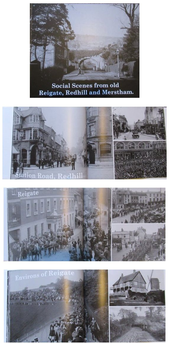 Social scenes from Old Reigate, Redhill and Merstham Photo Book